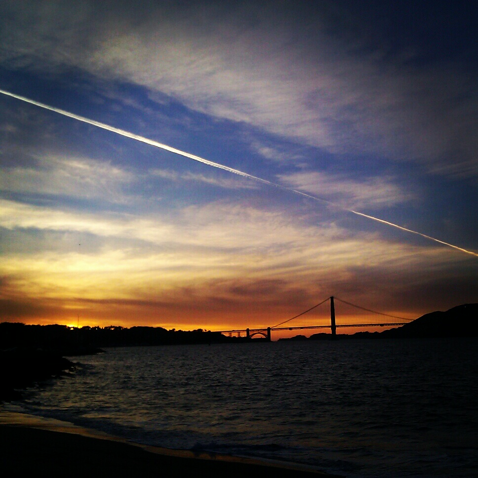 GG Bridge Sunset
